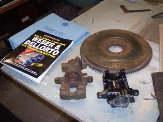 Lotus Esprit S1 Break & Clutch bit